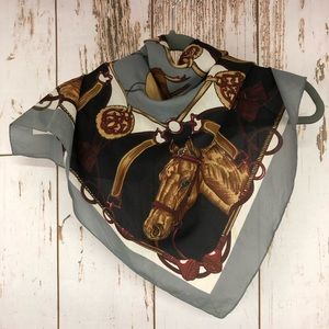 Liz Sinclair, Made in Italy Horse Scarf,  I34